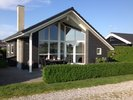 Modern, lovely holiday house with plenty of light, only 90 m to the best beach on Funen.