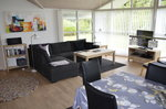 Lovely furnished new house in peacefull surroundings on big site, only 700m. from North